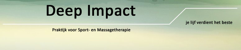 Deep Impact - massage 